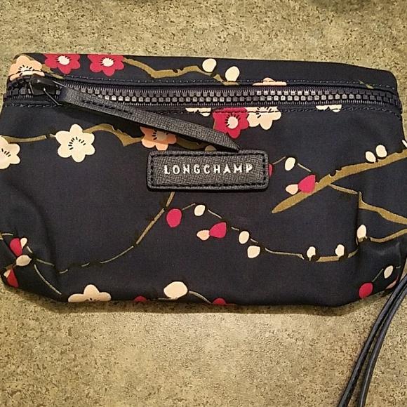 dee348d5e24a Longchamp Pliage Cosmetic Makeup Bag NEW